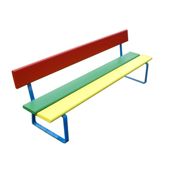 Dětská lavička vhodná do mateřských škol, na dětská hřiště i domácí zahradu.