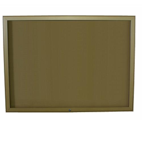 Hlinikova magneticka informacni vitrina Hv40 1000×1150 / 15xA4 www.citysteel.cz