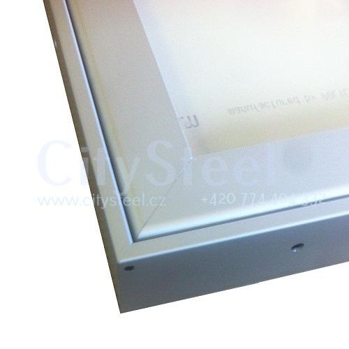 Hliníková magnetická informační vitrína HV60 1000×1800 24xA4