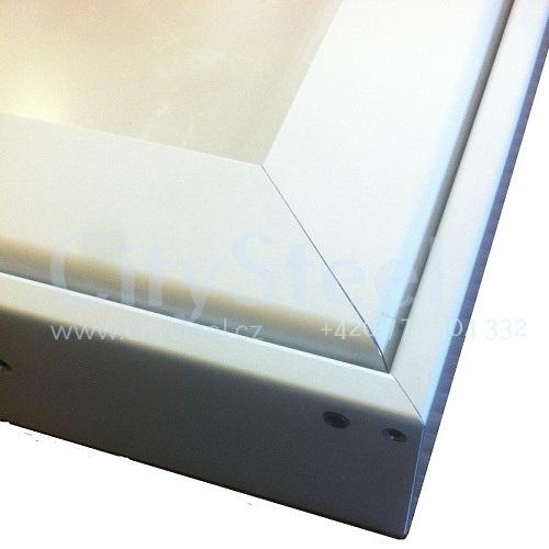 Hlinikova magneticka informacni vitrina s dvoukřídlými dveřmi HD60 1000×1040 12xA4