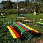 Dětská lavička vhodná na zahradu mateřských i základních škol