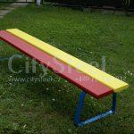 Dětská lavička pro děti vhodná na sportoviště